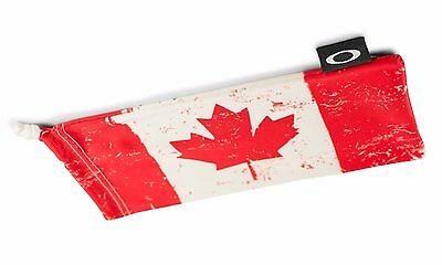 Oakley Canada, Flag, Microbag Storage Cleaning Bag, Sunglasses Case Microfiber
