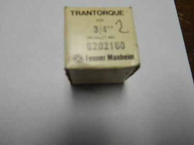 "FENNER MANHEIM  "" TRANTORQUE 3/4"" Keyless Bushing # 6202160 Unit # 2"