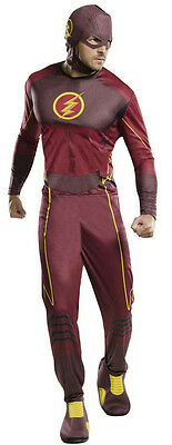 Rubie's Costume Co Men's The Flash Superhero Adult Costume Standard Size