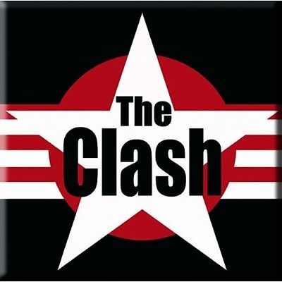 Collectable The Clash Fridge Magnet - Classic Logo - Officially Licensed NEW