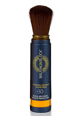Brush On Block Broad Spectrum SPF 30 Mineral Powder Sunscreen - Easy & Invisible