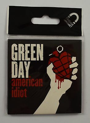 Collectable Green Day Fridge Magnet - Classic Logo - Officially Licensed NEW