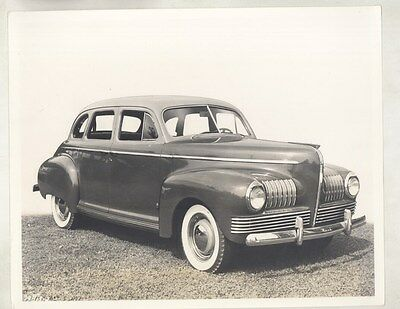 1941 Nash Sedan ORIGINAL Factory Photograph ww6723