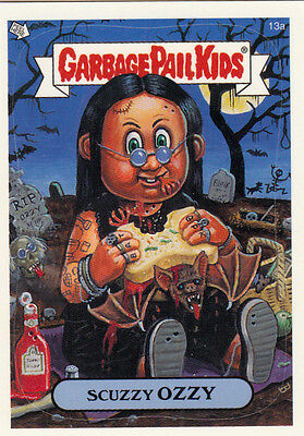 GARBAGE PAIL KIDS 2004 ALL NEW SERIES 2 ANS2 TOPPS BASE CARD #13a SCUZZY OZZY