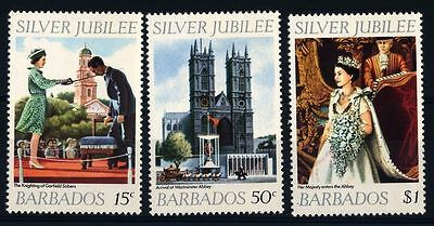 Barbados 1977 Silver Jubilee MNH