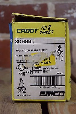 Caddy Erico SCH8B Booted SCH Strut Clamp Box of 108