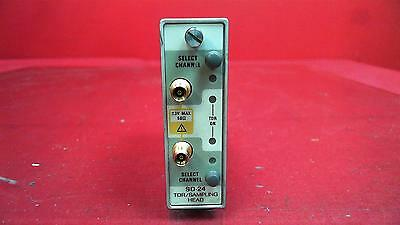 Tektronix SD-24 TDR / Sampling Head Two Channel