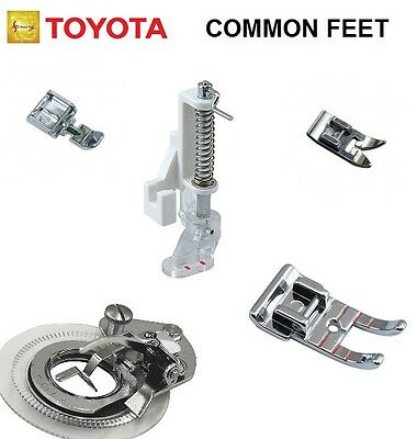 Sewing Machine Foot / Feet Selection fits Toyota RS2000 Series, SP, Super Jeans