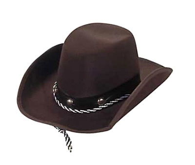 """Cowboy Hat Baby Sized Toddler Infant Western Rodeo One Size 11"""" Play Dress-up"""