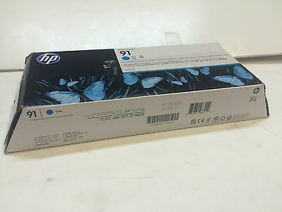 HP  91  for Printer HP Z6100 C9467A Cyan Ink Cartridge