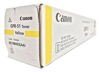 Canon 8519B003AA (GPR-51) Yellow Toner Cartridge C250if, C350if