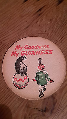 Vintage Beer Mat - My Goodness My Guinness