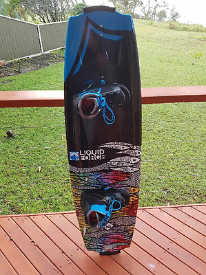 Wake Board,2016 Liquid Force Trip Wake Board 142 Cm.index Boots.new