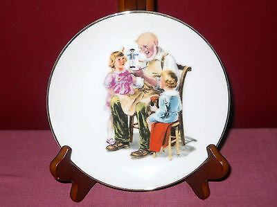 Vintage 1986 Norman Rockwell THE DOCTOR COLLECTOR PLATE