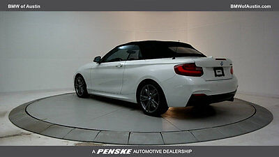 2016 BMW 2 Series M235i M235i 2 Series Low Miles 2 dr Convertible Gasoline 3.0L STRAIGHT 6 Cyl Mineral W