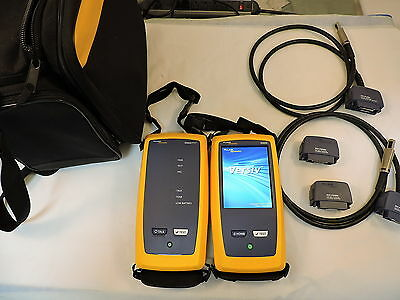 Fluke DSX-5000 Cable Analyzer, Cat 6 Cable Certifier - 90 Day Warranty