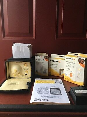 Medela Pump in Style Advanced Double Breastpump WITH EXTRAS! EUC