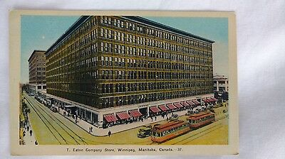 Eaton's, T. Eaton Co. Ltd - Postcard - Winnipeg