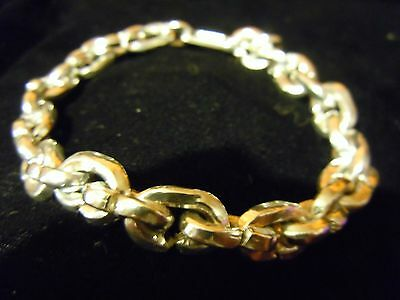 """Sale 9"""" Pure Silver .999 Big Dog 2+Ozt Bling Series Joey Nicks Anarchy Jewelry E"""