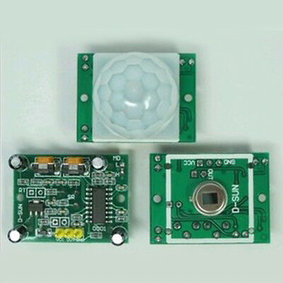 HC-SR501 Small PIR Sensor Module Pyroelectric Infrared Body Motion Sensing