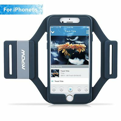 Mpow Sports Gym Armband Cover Jogging Cycling Running Arm Case for iPhone 7 6S 6