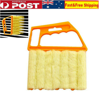Microfibre Venetian Blind Brush Window Air Conditioner Duster Clean Cleaner