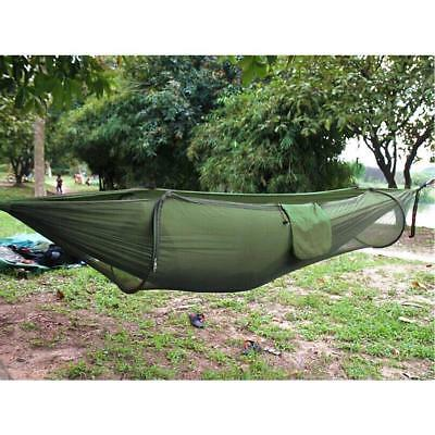Double Person Travel Outdoor Camping Tent Hanging Hammock Bed & Mosquito Net AU