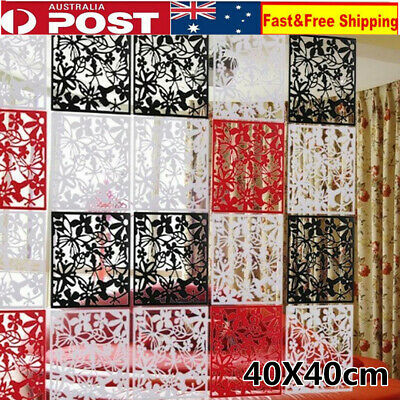 12 Panels Room Divider Screen Folding Hanging Screens Room Personalized Partitio