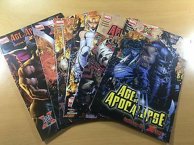 MARVEL Comics AOA AGE OF APOCALYPSE X-Men # 1 2 3 4 5 + Key One Shot SHIPS FREE!