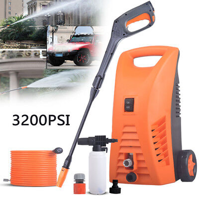 3200 PSI 2400W Electric High Pressure Water Washer Cleaner Spray Gun Pump Hose