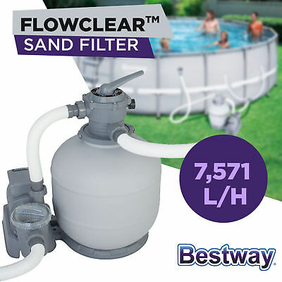 Bestway Flowclear Sand Filter Pump for 58366 Above Ground Swimming Pools