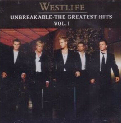 Westlife : Unbreakable: The Greatest Hits Vol. 1 CD (2003) Fast and FREE P & P