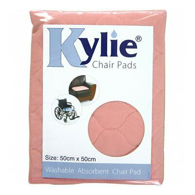 Kylie Washable Chair Pad - Pink - 1 Litre Absorbency
