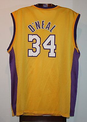 Maillot Trikot Jersey Nba Basketball Shaquille O'Neal Los Angeles Lakers XL