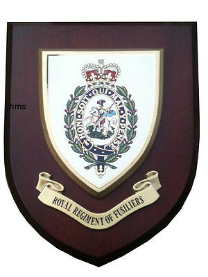 Royal Regiment of Fusiliers Military Shield Wall Plaque