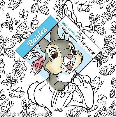 Disney Babies Adult Colouring Book Cute Nemo Goofy Bambi Mini Dumbo Rabbits