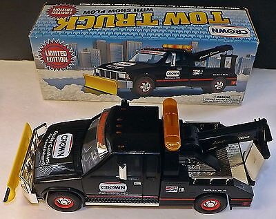 Crown Gas- Limited Edition Tow Truck With Snowplow