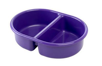 The Neat Nursery Oval Top N Tail Baby Wash Bowl - Plum