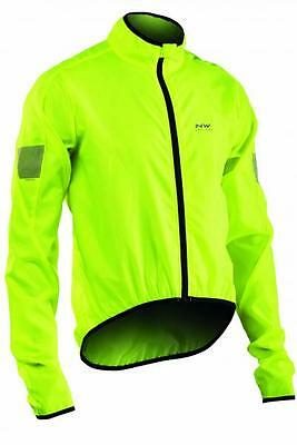 NORTHWAVE Giacca ciclismo uomo VORTEX giallo fluo