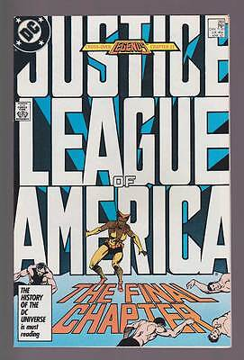 Justice League Of America # 261  The Final Chapter !  grade 9.0 scarce book !