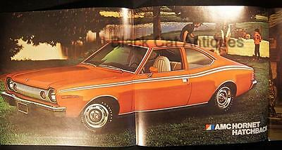 Original 1974 American Motors Hornet Hatchback/Sportabout Color Brochure Canada
