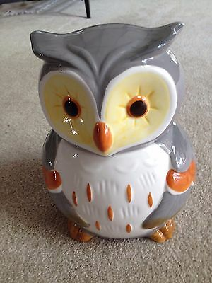 Grey Owl Cookie Jar