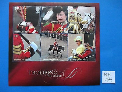 GB 2005 Commemorative miniature sheet: Trooping the Colours -  MNH   #MS134