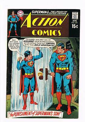 Action Comics # 391 Punishment of Superman's Son ! grade 5.5 scarce book !!