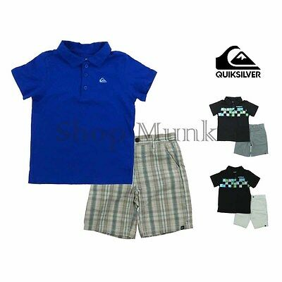 Quiksilver Little Boys Outfit with Shirt and Shorts