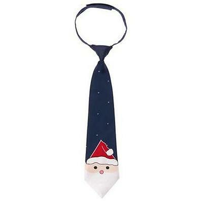 "NWT Gymboree Boys ""Holiday Shop"" Navy Santa Tie Fit Sizes 2T 3T 4T 5T"