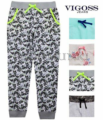 VIGOSS Girls Sportswear Drawstring Jogger Athletic Sweatpants
