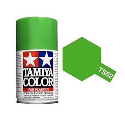 Tamiya COLORE SPRAY VERDE LIME per plastica bomboletta TS-52 100ml