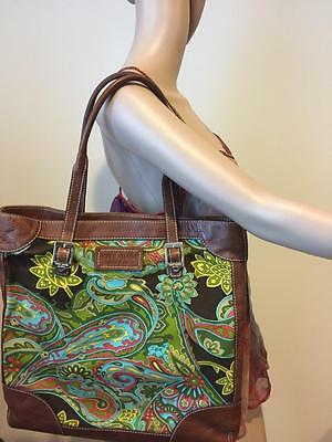 Kate Spade Paisley Collection Tote Shoulder Bag Large