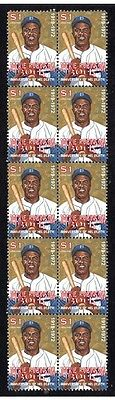 Jackie Robinson Baseball Legend Strip Of Mint Stamps 2